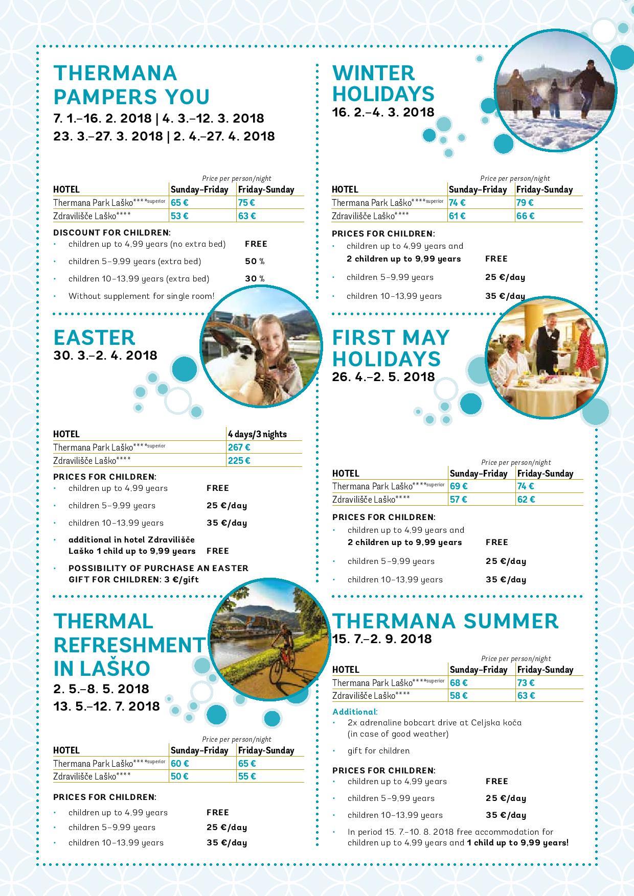 pricelist brochures thermana d d